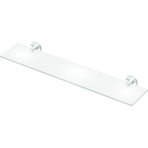 Ideal Standard Skleněná polička 520 x 138 x 48 mm, satinované sklo, chrom A9124AA