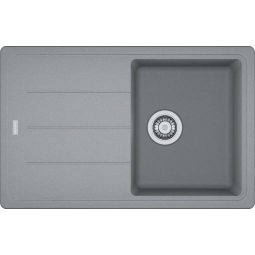 Franke Fragranitový dřez BFG 611-78, 780x500 mm, šedý kámen 114.0285.186