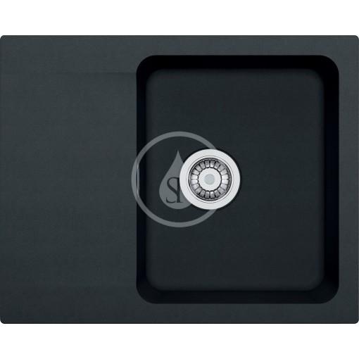 Franke Tectonitový dřez OID 611-62, 620x500 mm, černá 114.0288.569