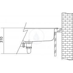 Franke Nerezový dřez NEX 211/7, 864x514 mm + sifon 127.0059.655
