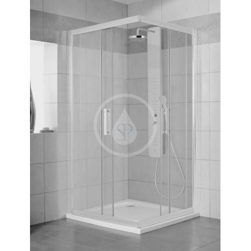 Ideal Standard Sprchový kout 900x900 mm, lesklá stříbrná/čiré sklo L6374EO