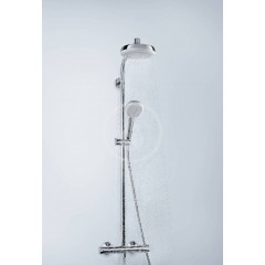 Hansgrohe Sprchový set Showerpipe s termostatem, 160 mm, bílá/chrom 27264400