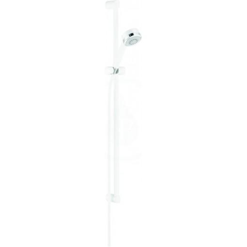 Kludi Sprchová hlavice s hadicí a tyčí 900 mm, 3 proudy, bílá/chrom 6085091-00