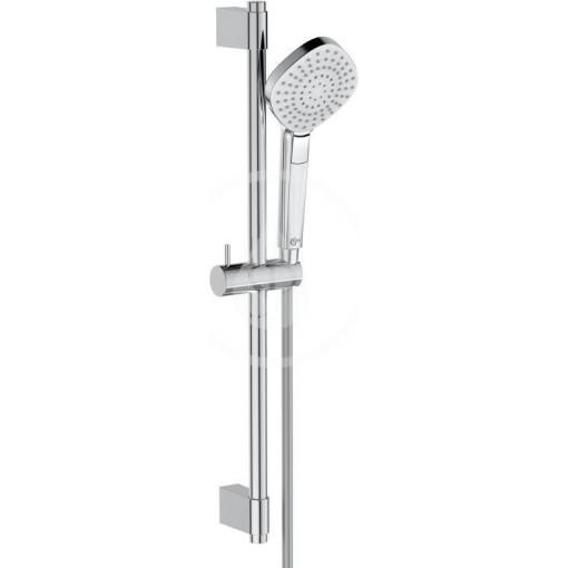 Ideal Standard Sprchová souprava Diamond, tyč 600 mm s ruční sprchou, 3 proudy, chrom B2234AA