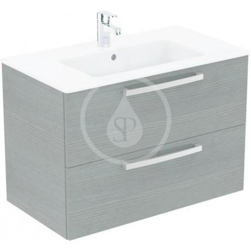 Ideal Standard Skříňka s umyvadlem 815x450 mm, dekor šedý dub K2978SG