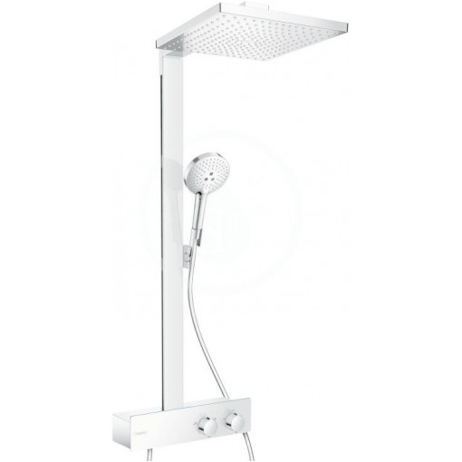 Hansgrohe Sprchový set Showerpipe 300 s termostatem 350 EcoSmart 9 l/min, chrom 27362000