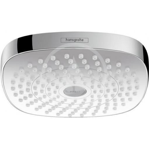 Hansgrohe Hlavová sprcha 180, 2 proudy, EcoSmart 9 l/min, bílá/chrom 26528400