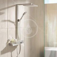 Hansgrohe Sprchový set Showerpipe 300 s termostatem 600, EcoSmart 9 l/min, chrom 27364000