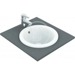 Ideal Standard Umyvadlo zápustné, průměr 380 mm, s přepadem, bílá E505101