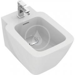 Ideal Standard Závěsný bidet s přepadem, s Ideal Plus, bílá T2971MA