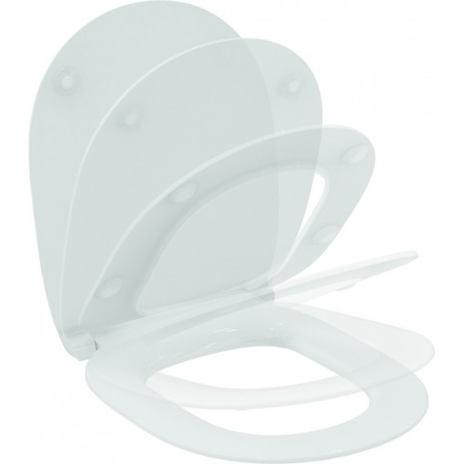 Ideal Standard WC sedátko ultra ploché softclose, bílá E772401