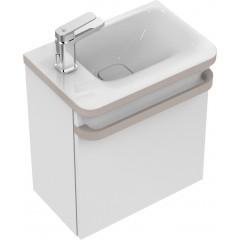 Ideal Standard Umývátko 460 x 310 x 140 mm, odkládací plocha vlevo, s Ideal Plus, bílá K0875MA