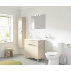 Ideal Standard WC štětka samostatně stojící, nerezová ocel A9108MY
