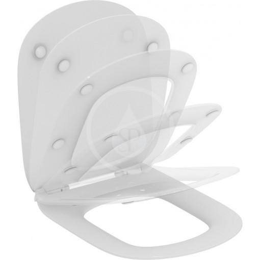 Ideal Standard WC sedátko ultra ploché softclose, bílá T352701