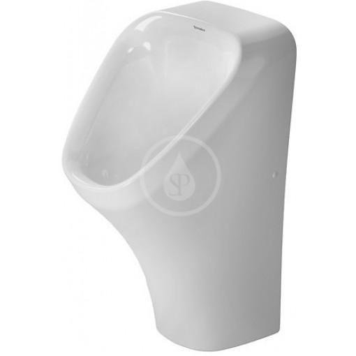 Duravit Pisoár Dry, bezvodý, bez cílové mušky, bílá 2808300000