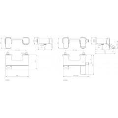 Ideal Standard Sprchová baterie, chrom A6337AA
