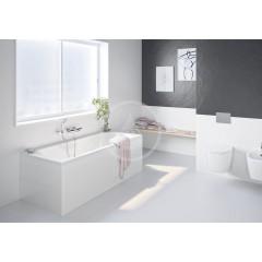 Ideal Standard Set sprchové hlavice, 1 proud, držáku a hadice, chrom B9506AA