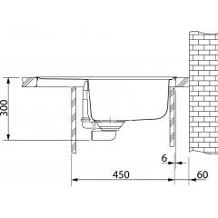 Franke Kuchyňský set T29, tectonitový dřez OID 611-62, černá + baterie FP 9000, grafit 114.0366.037