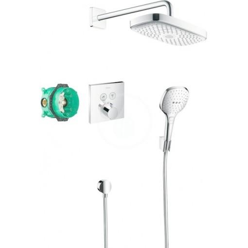 Hansgrohe Sprchový set 300 s termostatem ShowerSelect, 2 proudy, chrom 27296000