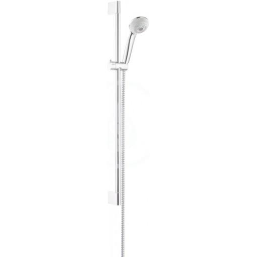 Hansgrohe Sprchová souprava Multi, 3 proudy, nástěnná tyč Unica'Crometta 0,65 m, chrom 27767000