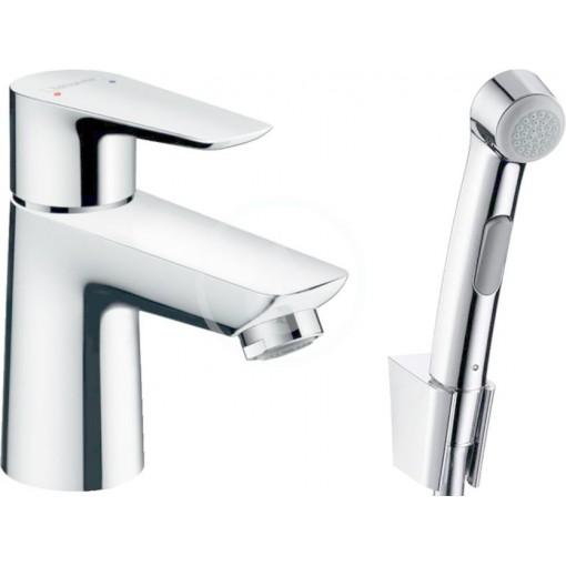 Hansgrohe Umyvadlová baterie s ruční sprchou Bidette, chrom 71729000