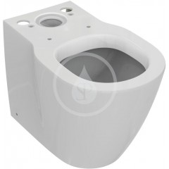 Ideal Standard WC kombi mísa kapotovaná, spodní/zadní odpad, bílá E118601