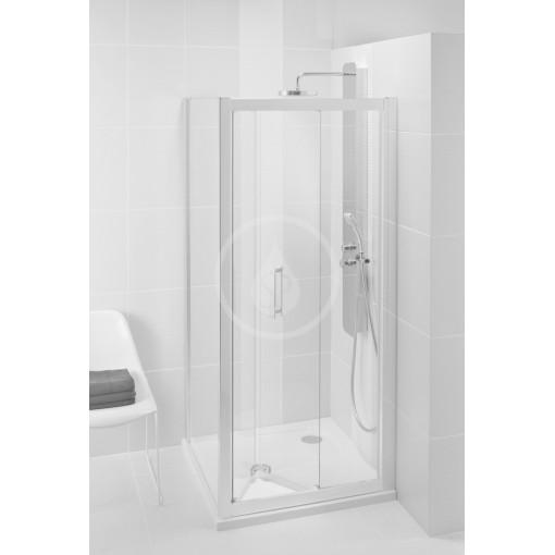 Ideal Standard Sprchové dveře skládací 90 cm, silver bright (lesklá stříbrná) L6369EO
