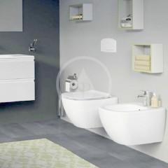 Ideal Standard Závěsné WC se sedátkem SoftClose, Rimless, bílá T355101