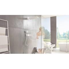 Hansgrohe Termostatická sprchová baterie pod omítku, pro 3 výstupy, bílá/chrom 15356400