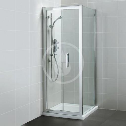Ideal Standard Pevná boční stěna 900 mm, silver bright L6401EO