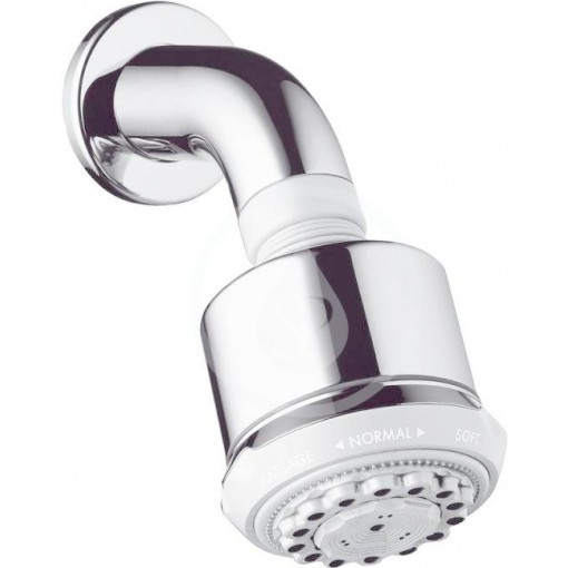 Hansgrohe Horní sprcha 3jet s ramenem sprchy, chrom 27475000