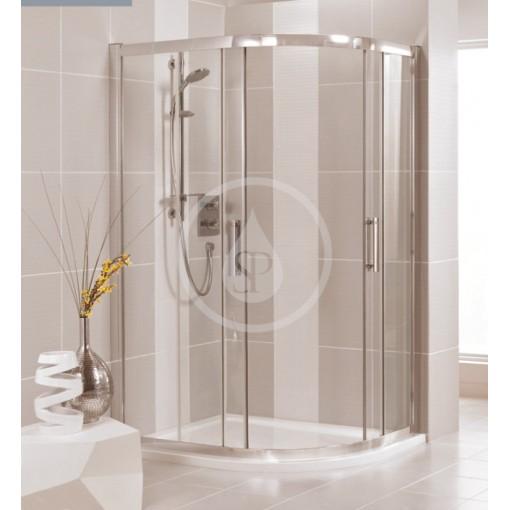 Ideal Standard Sprchový kout čtvrtkruhový 900x900 mm, lesklá stříbrná/čiré sklo L6383EO