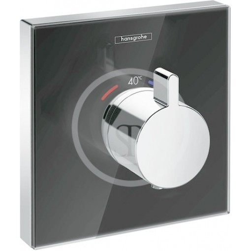 Hansgrohe Termostatická sprchová baterie HighFlow pod omítku, černá/chrom 15734600