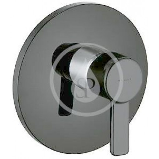Kludi Sprchová baterie pod omítku, černá/chrom 388608675