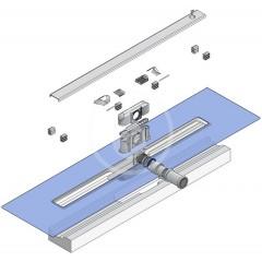 I-Drain Nerezový sprchový žlab, délka 600 mm, s hydroizolací ID4M06001X1