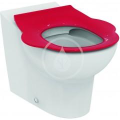 Ideal Standard WC dětské sedátko bez poklopu, červená S4542GQ