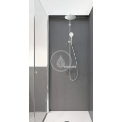Hansgrohe Sprchový set S 240 Showerpipe s termostatem, EcoSmart 9 l/min, chrom 27268000