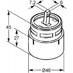 Kludi Kartuše 46 mm ECO 7640000-00