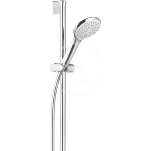 Kludi Set sprchové hlavice 120, 1 proud, tyče a hadice, chrom 6784005-00
