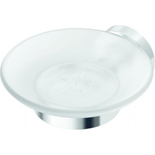 Ideal Standard Držák na mýdlo, satinované sklo, chrom A9122AA