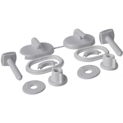 CERSANIT - Sada umělohmotných šroubů pro polypropylenové sedátko (K99-0004)
