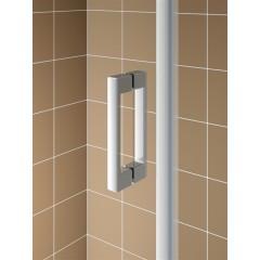 KERMI - Cada XS Jednokřídlé kyvné dveře, panty vlevo šířka 950 mm výška 2000 mm (CC1WL095202PK)