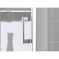 Kermi Boční stěna Cada XS TWD 03520 310-360/2000 bílá ESG čiré Clean boční stěna (CCTWD035202PK)