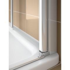 KERMI - Cada XS Jednokřídlé kyvné dveře, panty vlevo šířka 900 mm výška 2000 mm (CC1WL09020VVK)