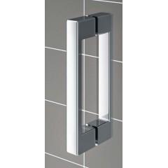 KERMI - Cada XS Jednokřídlé kyvné dveře s pevným polem vlevo šířka 800 mm výška 2000 mm (CC1GL08020VVK)