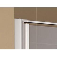 KERMI - Cada XS Jednokřídlé kyvné dveře s pevným polem vlevo šířka 900 mm výška 2000 mm (CC1GL09020VVK)