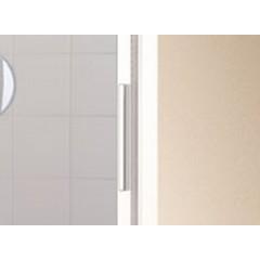KERMI - Cada XS 2-dílné posuvné dveře s pevným polem vlevo šířka 1200 mm výška 2000 mm (CCG2L12020VPK)
