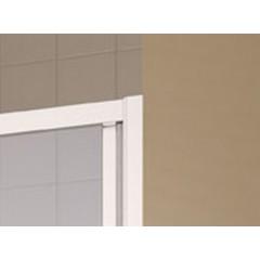 KERMI - Cada XS 2-dílné posuvné dveře s pevným polem vlevo šířka 1100 mm výška 2000 mm (CCG2L11020VVK)