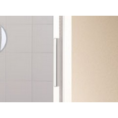 KERMI - Cada XS 2-dílné posuvné dveře s pevným polem vlevo šířka 1300 mm výška 2000 mm (CCG2L13020VVK)