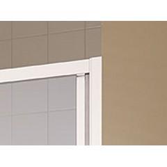 KERMI - Cada XS 3-dílné posuvné dveře s pevným polem vlevo šířka 900 mm výška 2000 mm (CCG3L090202PK)